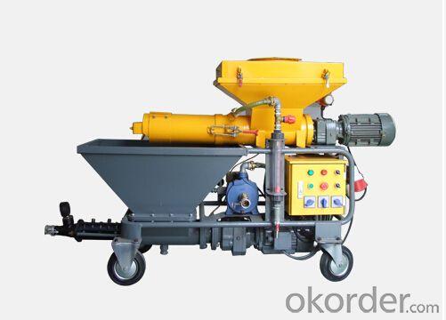 JP40W  Diesel  Mortar Pump for Plastering