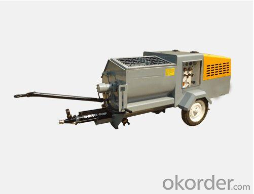 JP60-R Diesel  Mortar Pump for Plastering