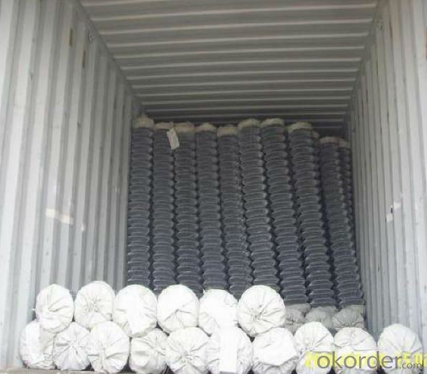 Low  Carbon Steel Wire Chain  Link Fence