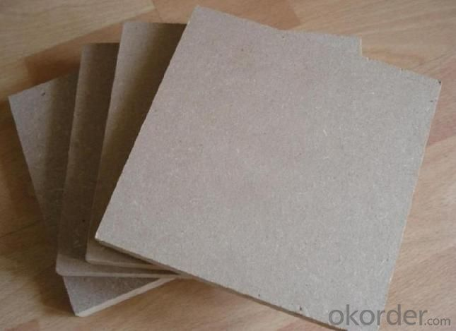 Plain and Raw MDF Board Light Color E2 Grade Glue