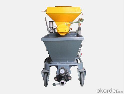JP40W Small Volume Diesel  Mortar Pump for Plastering