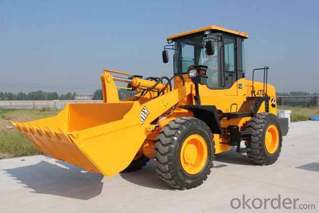 17Ton/3 Cube Meter Front Bucket Wheel Loader with Sinotruck Engine