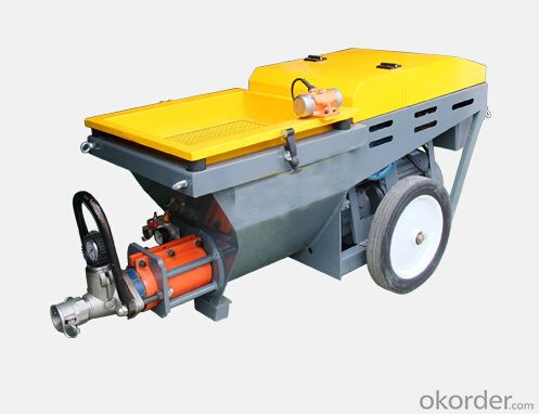 JP50-p Small Volume Diesel  Mortar Pump for Plastering