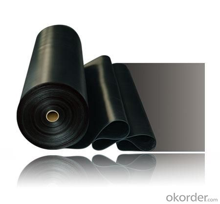 EPDM Rubber Sheet for Waterproofing with 1.5mm Thickness