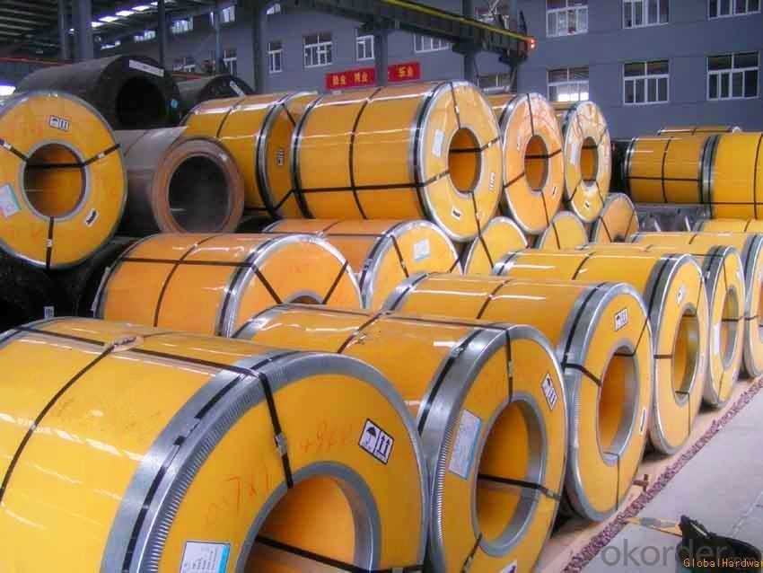 Stainless Steel Coil Cold Rolled 201 Half Cu 0.8 Prime Quality