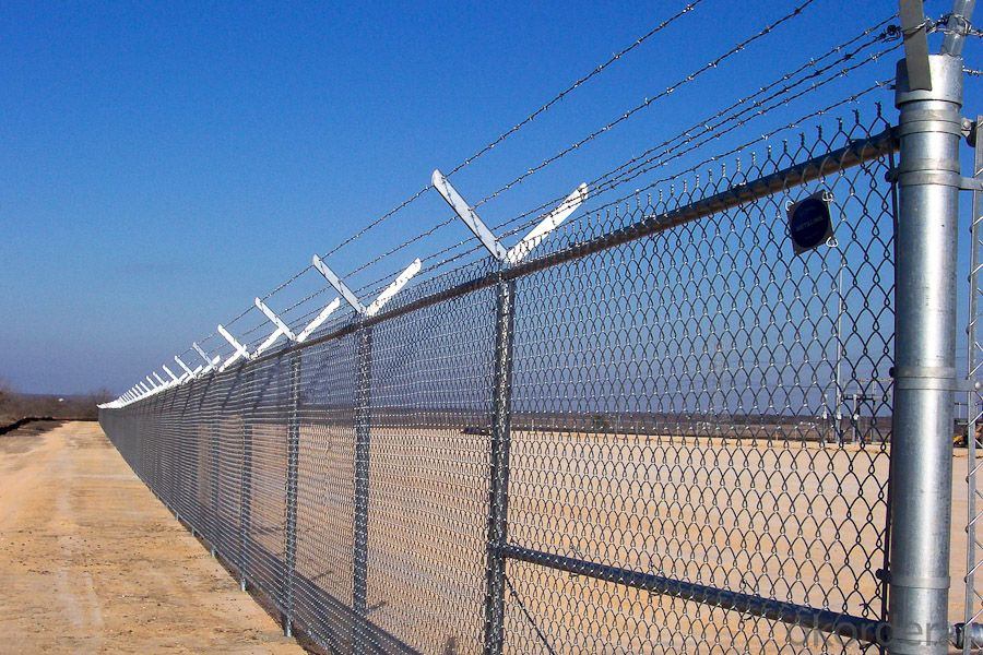 Prison High  Protection Chain Link Mesh Fence