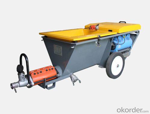 High Efficiency Small Mortar Pump for Plastering J60-W