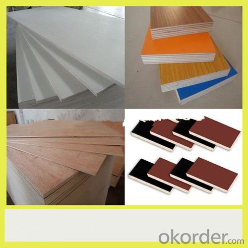 Poplar and Combi Material Film Faced Plywood