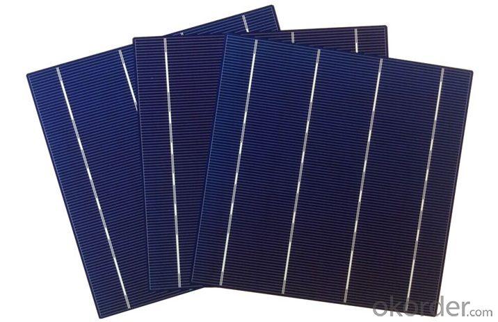 Mono Crystalline Solar Cell 6inch  4.09W