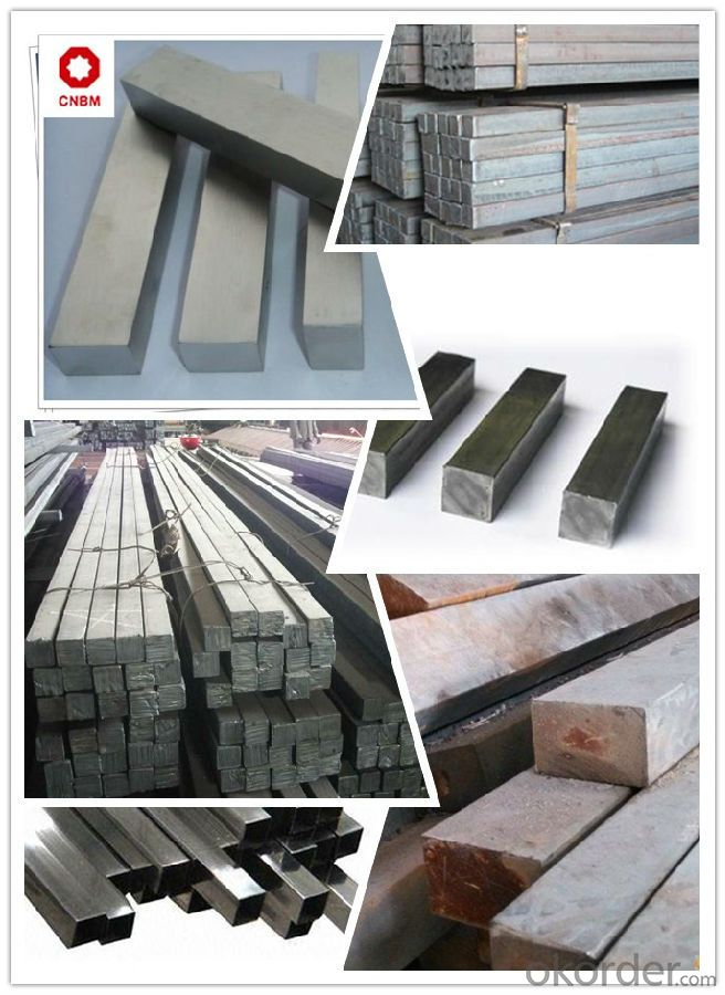Carbon Structural Steel Square Bars ST37-2CR