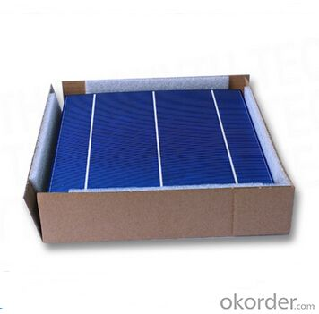 Monocrystalline Solar Cell 156mm*156mm±0.5mm