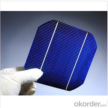 Monocrystalline Solar Cell 125mm×125mm±0.5mm