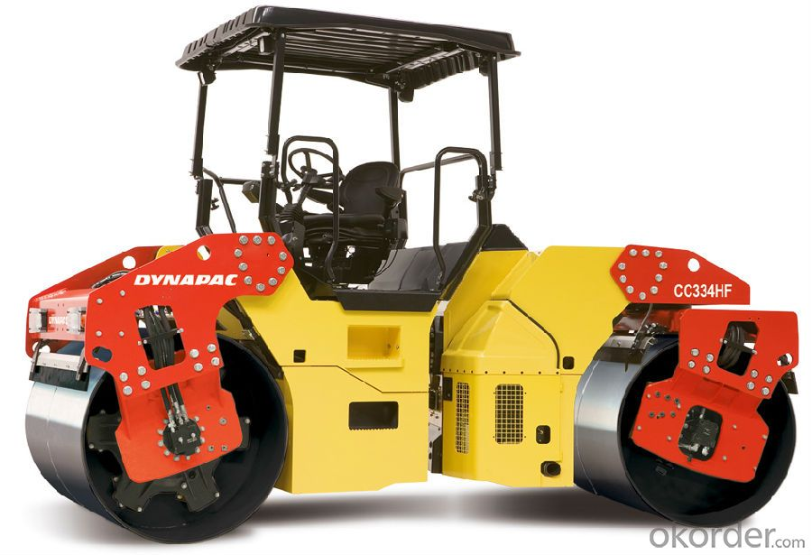 Vibration Double Drum Vibratory Roller (FYL-880)