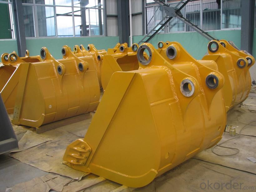 Excavator Rock Bucket/Heavy-Duty Bucket/Standard Bucket