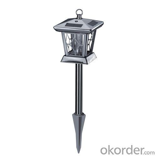 GSB SL43  Stainless Steel Solar Garden Lamp