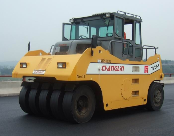 16ton Pneumatic Tyre Road Roller with Diesel Engine