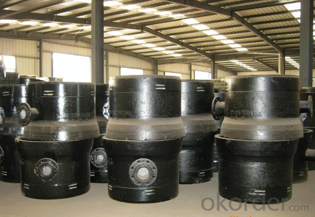 Ductile Iron Pipe Fitting Double Flanged Bend ISO2531/EN545 DN1500