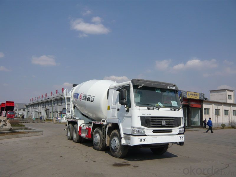 Concrete Mixer Truck  Professional Supply  8*4 of 12m3