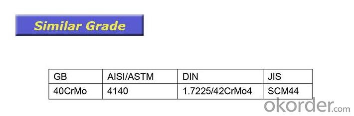 4140 Alloy Steel, 1.7225 Steel Material, SCM440 Steel Bar