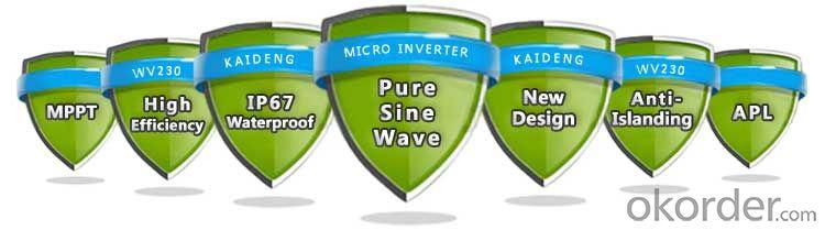 KD-WV230 Interver,260W,High Efficiency & Best Cost-Effectiveness