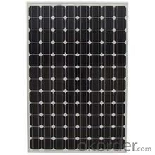 156mm*156mm Monocrystalline silicon modules with CE certificate