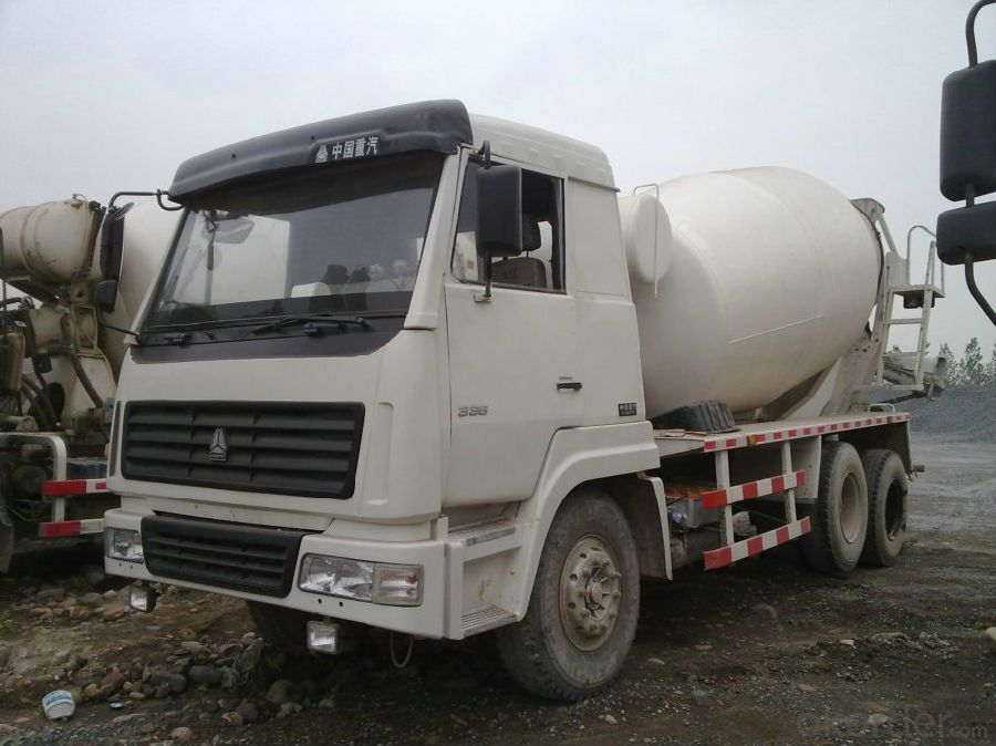 Concrete Mixing Truck 10cbm C100  with Air Conditioner
