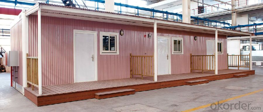 Prefab Mobile House / Prefabricated Modular Home 3 Bedrooms