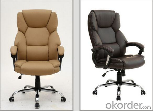 The Boss Leather Executive Chair in Black