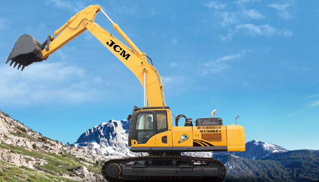 MC700-9 Cummins Hydraulic Crawler Excavator Digge