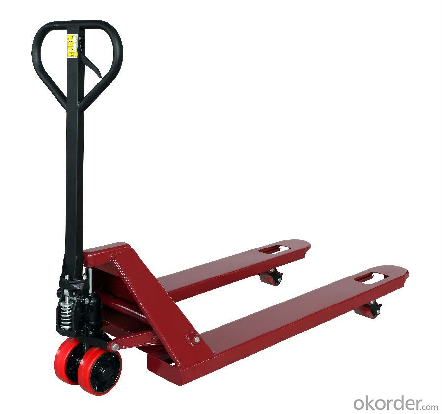 Hand 5ton Pallet Truck High Lift Hydraulic CE