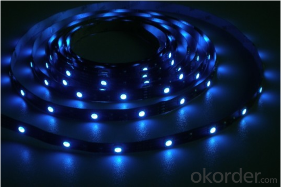 LED rgb strip with 3014 SMD LED, R/G/B/Y/W/RGB option