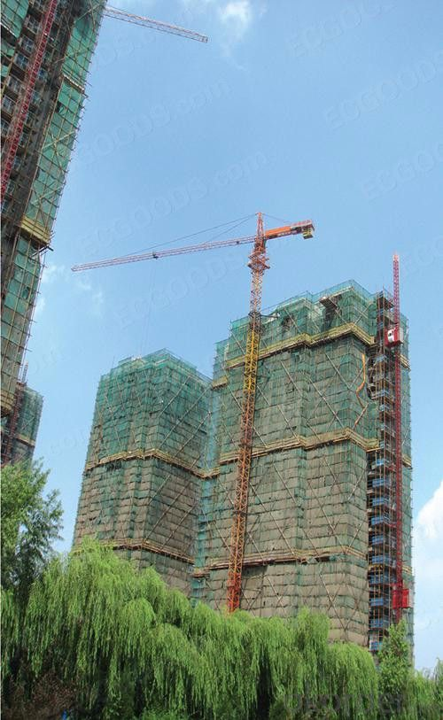 Tower Crane of Chang Li Model Number DSM QTZ-63