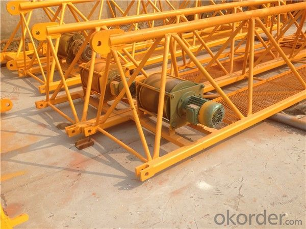 Tower Crane of Chang Li Model Number  QTZ40