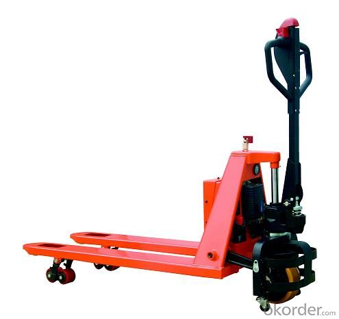 Hand Pallet Truck with Low Height Working