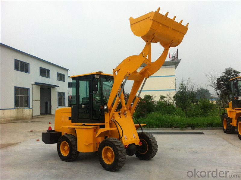 XD912G 1t Wheel Loader Payloader Bucket Capacity 0.5m3