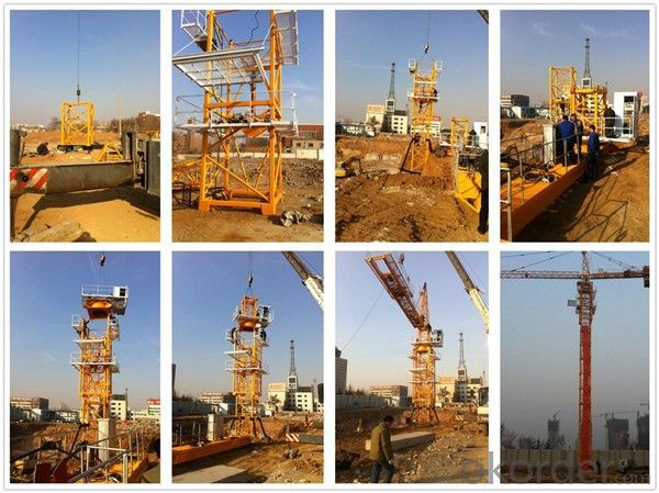 Tower Crane of Chang Li Model Number  QTZ40(4708)