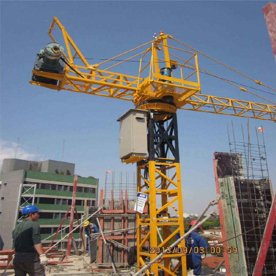 Tower Crane of Chang Li Model Number  QTZ80A(6010)