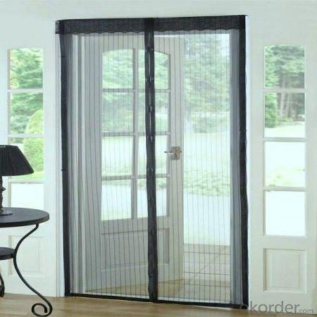 Black/Grey Color Plisse Insect Screen/Fiberglass Plisse Mesh/DIY Magnetic Screen Window