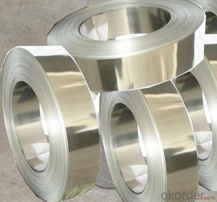 Rolled Colored Galvanized Coil in Stainless Steel