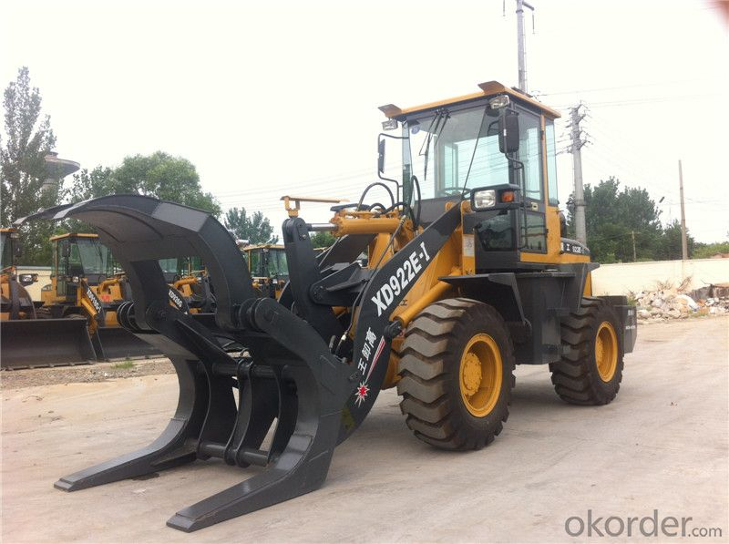 XD922E 1.8ton Wood Grapple Loader