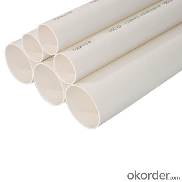 PVC Pipe Length: 5.8 /11.8M Standard: GB