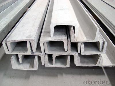 100mm EN Standard U Channels for construction
