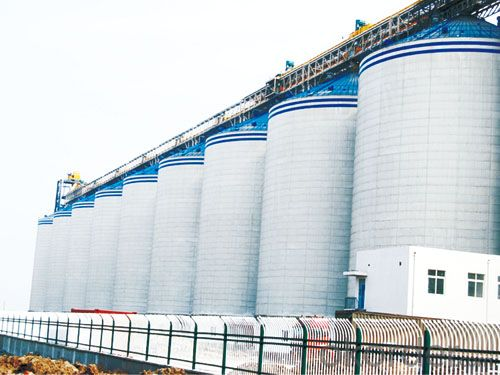 Grain Silo Steel Galvanized Steel Grain Silo for Storage