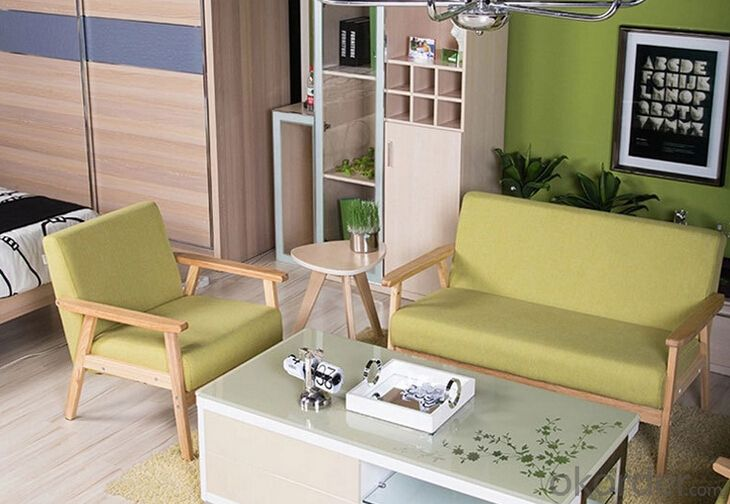 Carefree Double Sofa with Modern and Country Style