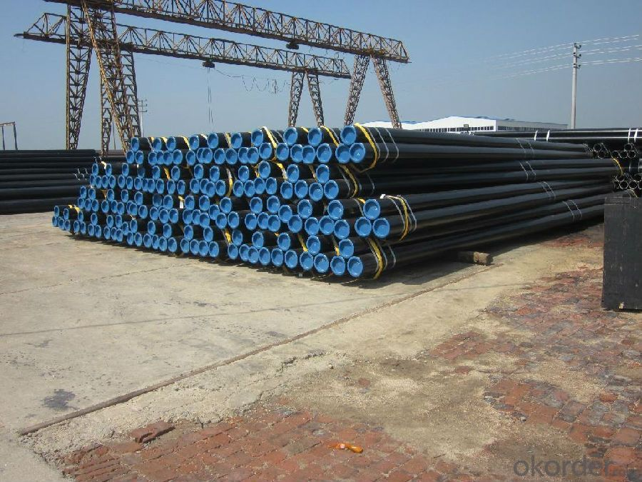 CNBM CARBON STEEL SEAMLESS PIPE API 5L ASTM A106/53  WITH HIGH QUALITY