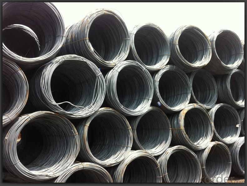 Wire Rod Hot Rolled High Quality SAE1008 and SAE1006