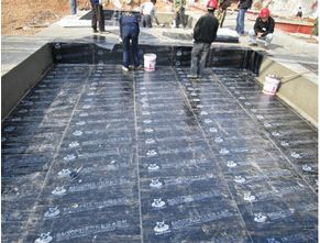 SBS Waterproofing Membrane With  4 mm Bitumen Modified