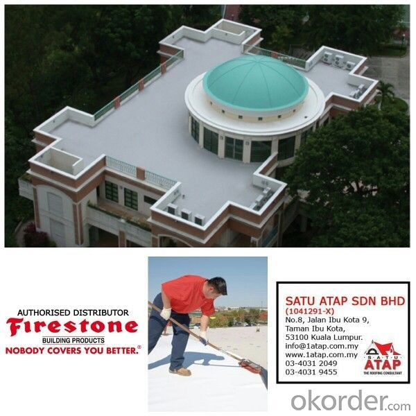 SBS Waterproofing Membrane In Composite Mat