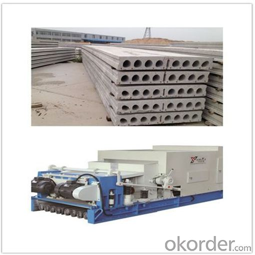 Pre-stressed Hollow Core Slab Forming Machine