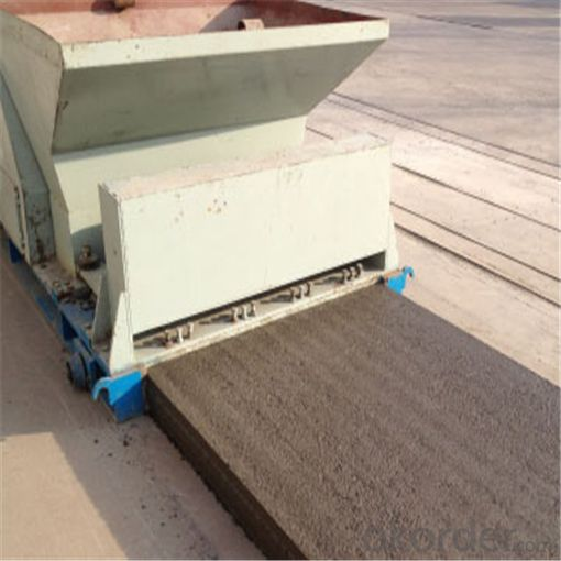 Prefab Concrete Hollow Core Slab Making Machine